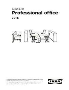 Professional office BUYING GUIDE