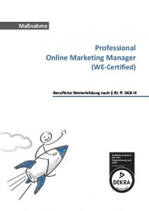 Professional Online Marketing Manager