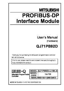 PROFIBUS-DP Interface Module