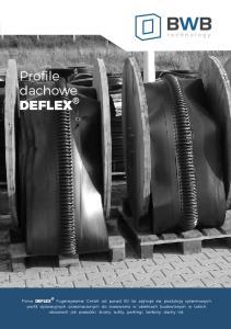 Profile dachowe DEFLEX
