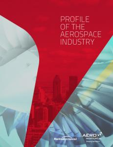 PROFILE OF THE AEROSPACE INDUSTRY