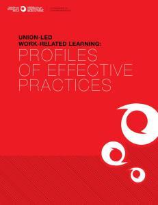 Profiles of Effective Practices