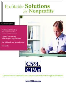 Profitable Solutions for Nonprofits