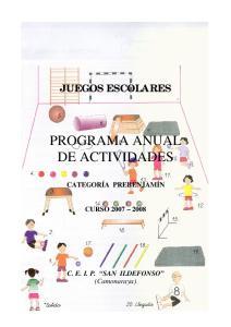 PROGRAMA ANUAL DE ACTIVIDADES