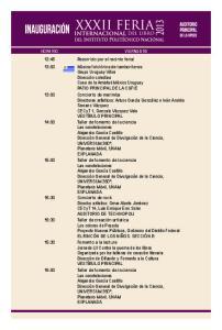 PROGRAMA DE ACTIVIDADES 1