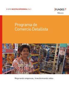 Programa de Comercio Detallista