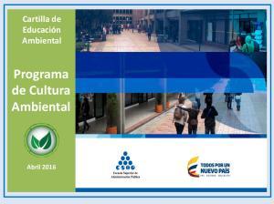 Programa de Cultura Ambiental