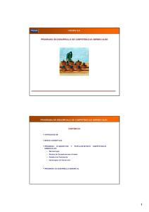 PROGRAMA DE DESARROLLO DE COMPETENCIAS GERENCIALES