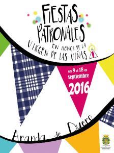 Programa de Fiestas Del 1 al 9 de septiembre