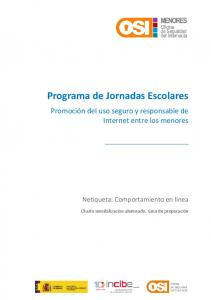 Programa de Jornadas Escolares