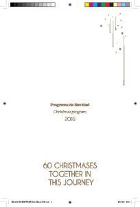 Programa de Navidad Christmas program