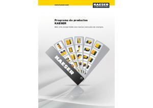 Programa de productos KAESER