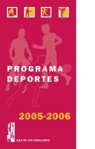 PROGRAMA DEPORTES EJEA DE LOS CABALLEROS