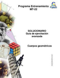 Programa Entrenamiento MT-22