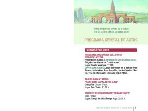 PROGRAMA GENERAL DE ACTOS