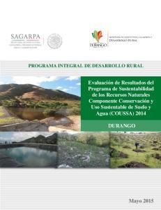 PROGRAMA INTEGRAL DE DESARROLLO RURAL