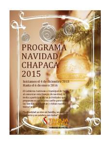 PROGRAMA NAVIDAD CHAPACA 2015