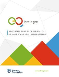 PROGRAMA PARA EL DESARROLLO DE HABILIDADES DEL PENSAMIENTO