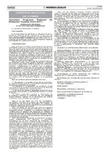 PROGRAMA REGIONAL DE POBLACION DE TUMBES (PROPUESTA)