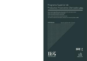 Programa Superior de Productos Financieros Derivados (PFD)