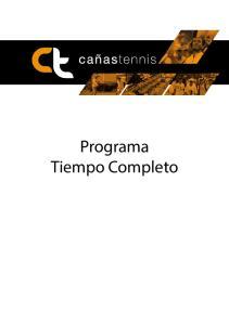 Programa Tiempo Completo