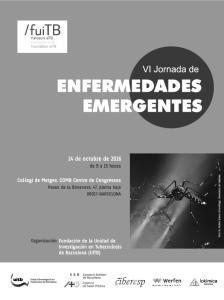 Programa VI Jornada de Enfermedades Emergentes