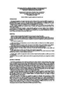 PROGRAMACION DE LA PERDIDA DE PESO Y ULTRAFILTRACION EN DIALISIS CON MONITORES DE CONTROL VOLUMETRICO. GRAFICAS Y TABLAS PARA SU APLICACION