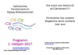 Programm 1. Halbjahr 2017