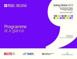 Programme at a glance