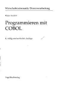 Programmieren mit COBOL