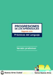 PROGRESIONES DE LOS APRENDIZAJES