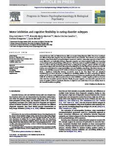 Progress in Neuro-Psychopharmacology & Biological Psychiatry