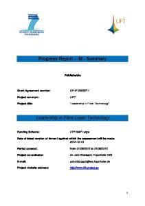 Progress Report 48 - Summary