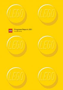 Progress Report The LEGO Group