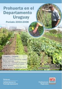 Prohuerta en el Departamento Uruguay