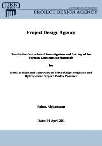 Project Design Agency