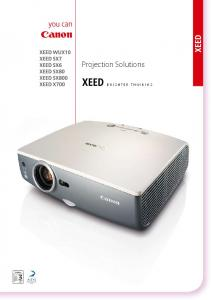 Projection Solutions BRIGHTER THINKING