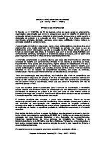 Projecto de Decreto-lei