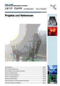Projekte und Referenzen