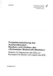 Projektentwicklung bei Ausland bauten: Neubau und Umbau der