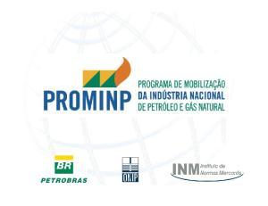 Projeto PROMINP - IND P & G 1