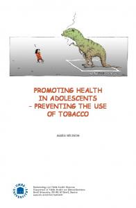 Promoting health in adolescents preventing the use of tobacco