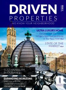 PROPERTIES STATE OF THE MARKET PG.4 SUSTAINABILITY IN DUBAI PG.16 ULTRA LUXURY HOME