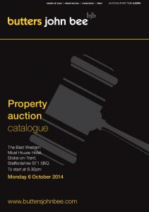 Property auction catalogue.  Monday 6 October 2014