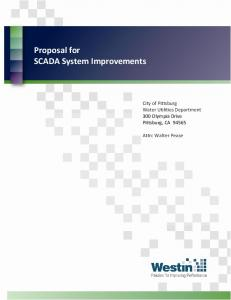 Proposal for SCADA System Improvements