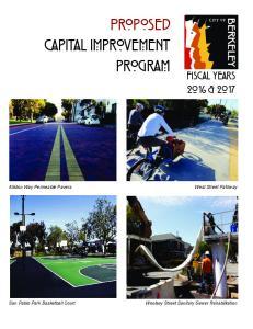 proposed CAPITAL IMPROVEMENT PROGRAM