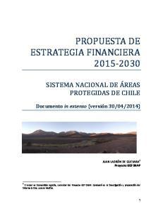 PROPUESTA DE ESTRATEGIA FINANCIERA