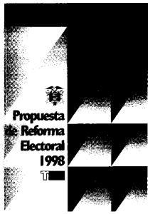PROPUESTA DE REFORMA ELECTORAL