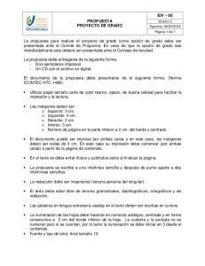 PROPUESTA PROYECTO DE GRADO