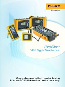 ProSim Vital Signs Simulators